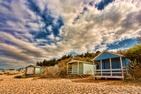 Beach Huts at Hunstanton